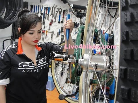 How its Made, Your Custom Throne Fixie bike at Live4bikes Gopro