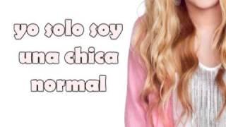 Ordinary Girl - Hannah Montana  ( Traducida Al Español )