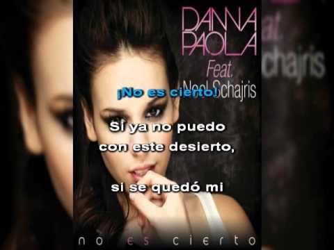 No es cierto Danna Paola