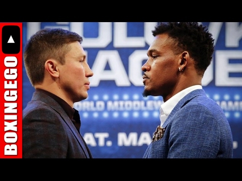 (EWW) GENNADY GOLOVKIN SMALLER THAN DANNY JACOBS @ 30-DAY WBC MANDATORY WEIGH-IN (WATCH THIS)