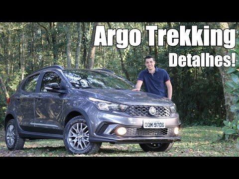 Fiat Argo Trekking 2020 em detalhes - Falando de Carro