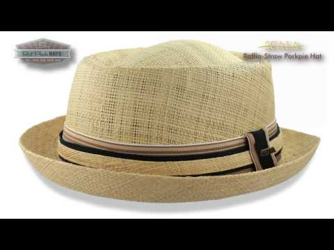 Pork Pie Hat Review, Scala Straw Fedora