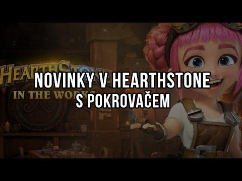 Novinky v Hearthstone s Pokrovačem