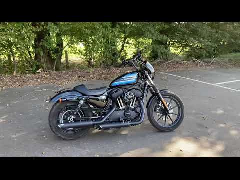 2019 Harley-Davidson XL1200NS Sportster Iron 1200 in Vivid Black