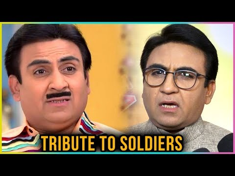 Jethalal aka Dilip Joshi Gives TRIBUTE To Indian S
