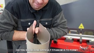 DO YOU KNOW HOW DIFFICULT TITANIUM IS TO FORM?