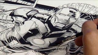 Superhero Comic Artist: Behind the Scenes