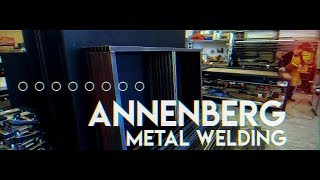 Metal Welding Process for Large Light Box Signs