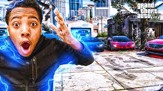 GTA 5 RICH BOYS IN THE HOOD(THEY CALLED THE POLICE!!)
