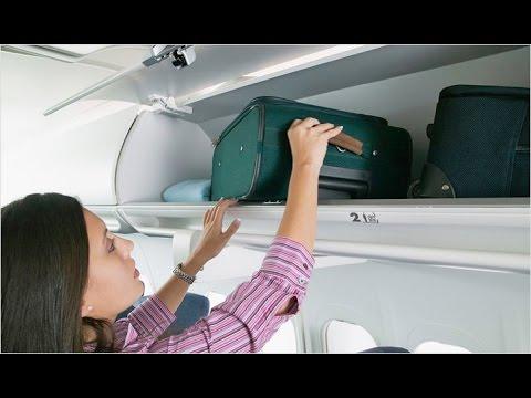 Есть ли ограничения на размер и вес ручной клади в самолете?