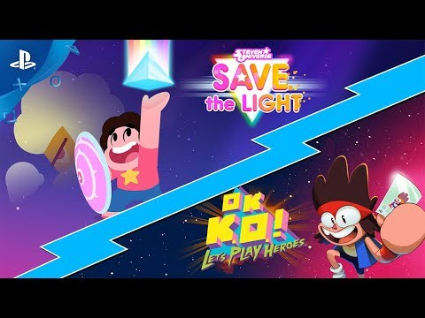 Steven Universe Save The Light & OK K.O.! Let's Play Heroes Combo Pack - Launch Trailer | PS4 thumbnail