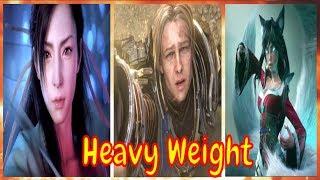 RedMoon & Meron Ryan - Heavy Weight | [Night CodeX Official Video | 🔮🎩