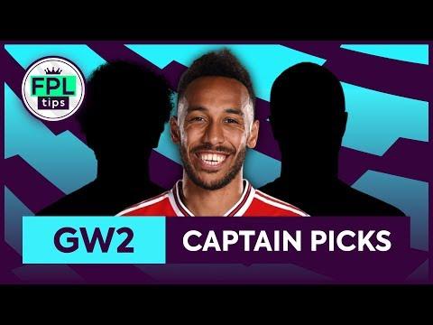 GW2: TOP 3 FPL CAPTAINCY PICKS | Gameweek 2 | Fantasy Premier League Tips 2019/20