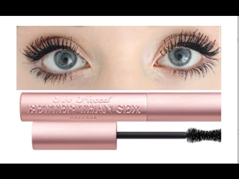 Too Faced Better Than Sex Mascara | Demo & Review