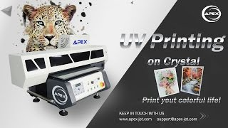 How to Print on Crystal Pot with APEX UV Printer?