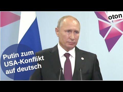 Putin zum USA-Konflikt auf deutsch [Video]
