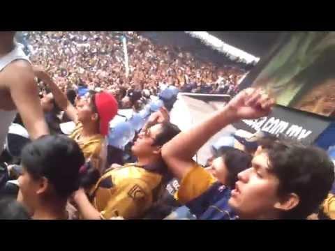 """""""America vs Pumas 30/08/2014 La Rebel Que se mueva el pebetero"""" Barra: La Rebel • Club: Pumas"""