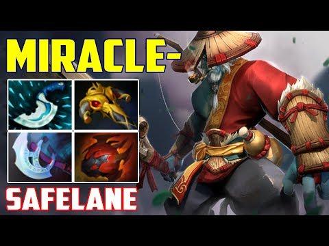 Miracle- Phantom Lancer [safe] | Pro Counter Build | Dota 2 Gameplay 2017