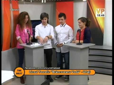 """Preselecții The Best – 21 octombrie 2014 (I) – Liceul Teoretic """"Brâncoveanu Vodă"""" Urlați"""