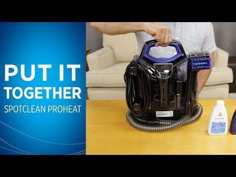 How to Assemble Your SpotClean Portable Carpet Cleaner