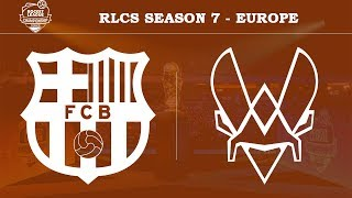 FC Barcelona vs Vitality | RLCS Season 7 - Europe [12th May 2019]