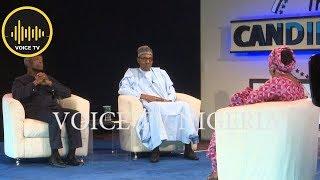 The Candidates Pres. Buhari And Osinbajo On HOT SEAT 2019