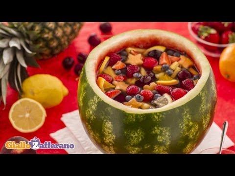 Συνταγή για δροσιστική σαγκρία καρπούζι