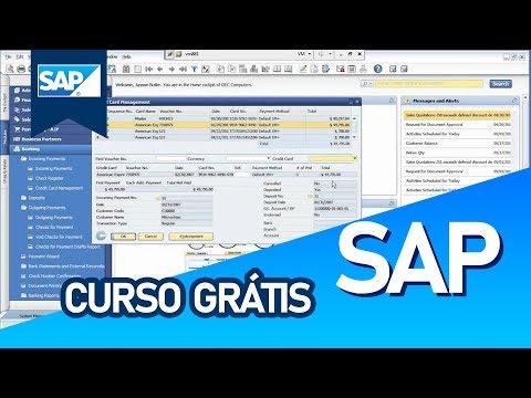 Curso Grátis - SAP