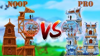 The Catapult 2 Part 5 Fortress NOOB And PRO- Gameplay Walkthrough (Android, IOS Game)