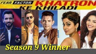 Khatron Ke Khiladi  Season 9 Winner   