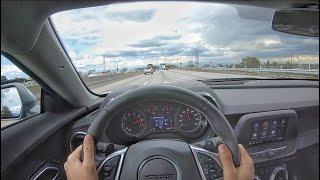 2020 Chevrolet Camaro LT1 V8 10-Speed Auto POV Drive (3D Audio)