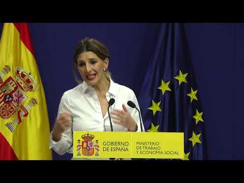 Gobierno y agentes sociales acuerdan subir el salario mínimo a 950 euros