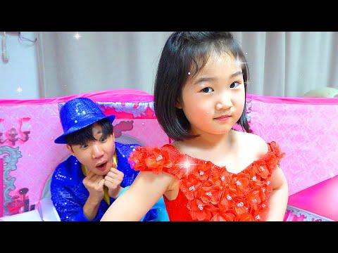 Boram makes a new Dress for Princess Party – Cool DIY Ideas