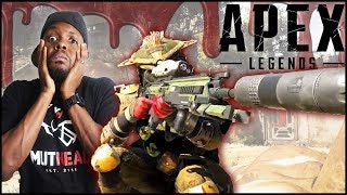 Let The Bodies Hit The Floor! Whole Squad Catching Bodies! - Apex Bloodhound Gameplay
