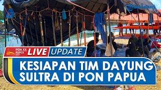 PON PAPUA: Kesiapan Tim Dayung Sultra di PON XX Papua