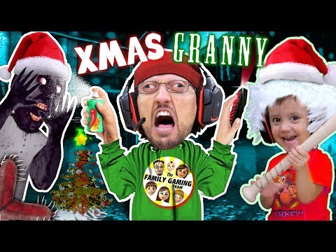 GRANNY The GRINCH IRL🍏! She's Mean On CHRISTMAS 2 So We Pepper Sprayed Her!  (FGTEEV Gameplay/Skit)