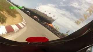preview picture of video '1ª CARRERA  Mini GP 140 2ª Tanda. Circuito Renn Arena Llucmajor. Cuna de Campeones Bankia.mp4'
