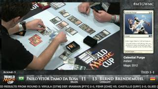 World Magic Cup 2012: Round 5