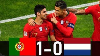 Portugal Vs Netherlands 1-0 | Extended Highlights & All Goals 2019 | Nationals League Final