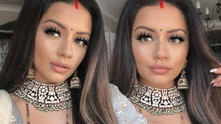 INDIAN WEDDING MAKEUP TUTORIAL | GET READY WITH ME | KAUSHAL BEAUTY - Download this Video in MP3, M4A, WEBM, MP4, 3GP
