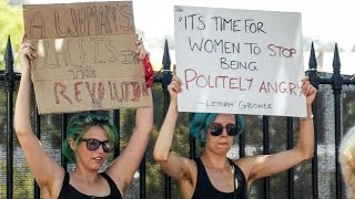 Cape Town sees hundreds of women march against Donald Trump