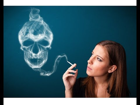 Beteg és szédült a dohányzásról