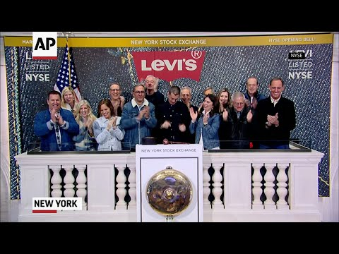 "Levi Strauss & Co., which gave America its first pair of blue jeans, is public for the second time. The stock, which is listed under the ticker ""LEVI,"" opened for trading on Thursday up 31 percent on very strong demand. (March 21)"