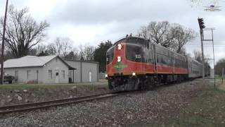 Iowa Pacific Batesville, Mississippi Polar Express 2015 | Railfanning Endeavors #9
