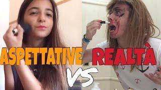 ASPETTATIVA VS REALTÀ - DIFFERENZE