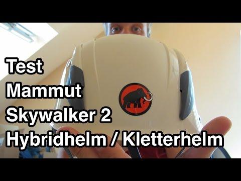 Test Mammut Skywalker 2 Hybridhelm Kletterhelm | Kletterhelm Test | Kletterhelme