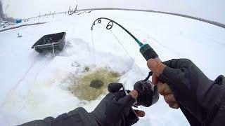 Зимняя рыбалка в подольском районе
