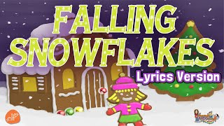 Falling Snowflakes - Winter Counting Song for Children with Patty Shukla - Lyrics Version