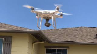 Flight Test DJI Phantom 4, May 24,2020 фото