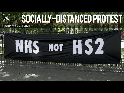 Euston Gardens HS2 Tree Protest – 29th May